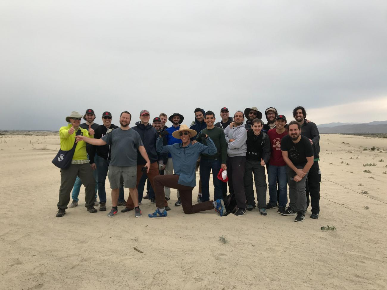Volunteering for Friends of the Desert Mountains
