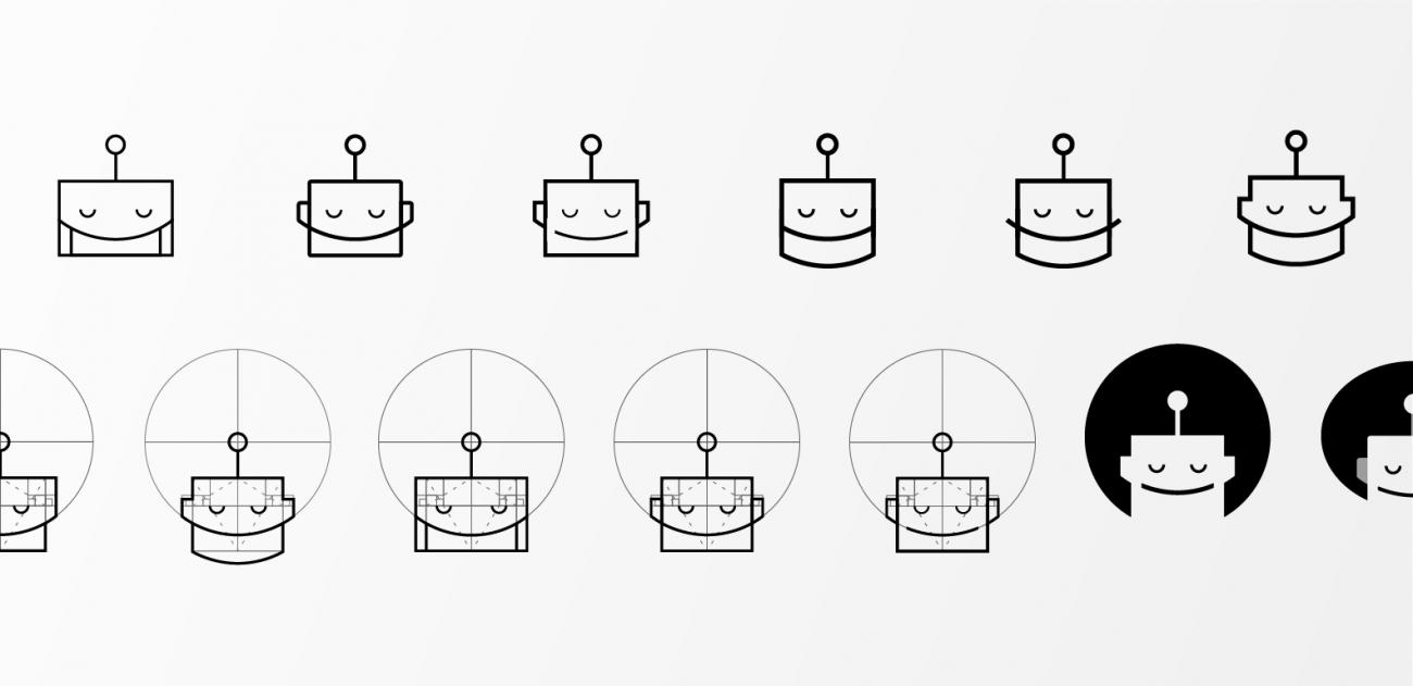 Lullabot logo explorations