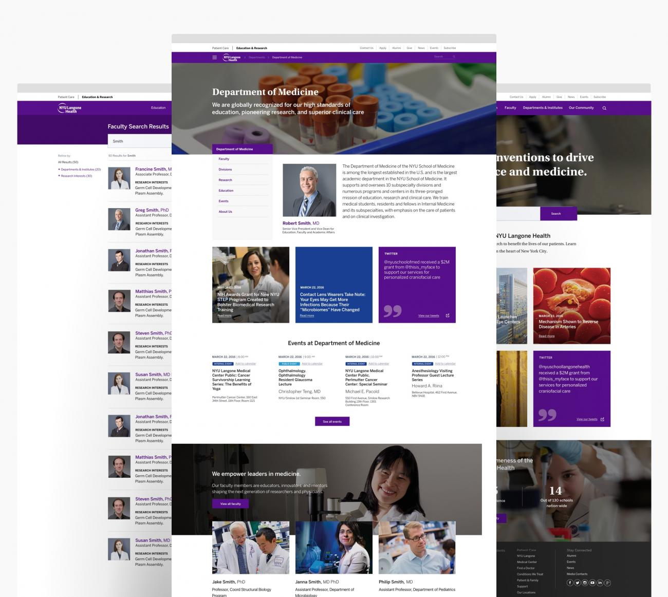 NYU School of Medicine Website