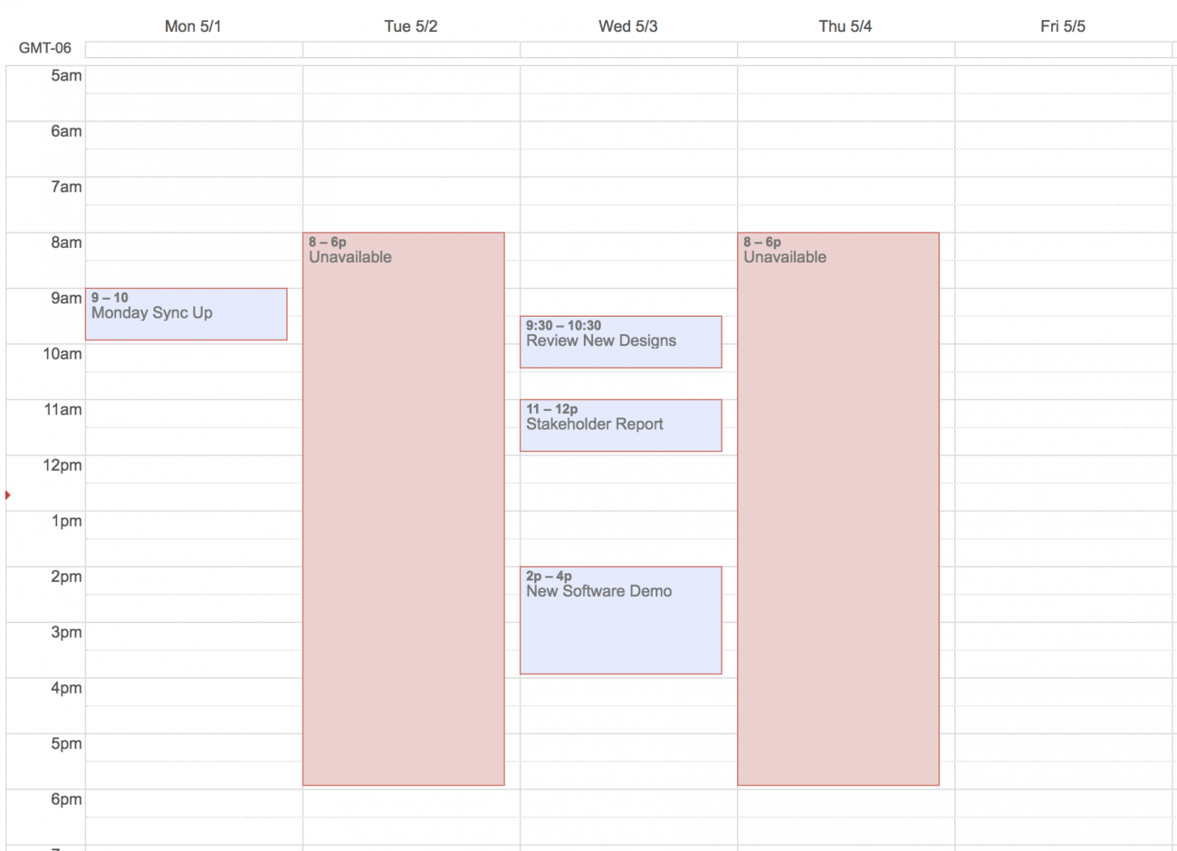 Create full day events in your calendar for uninterrupted work time.