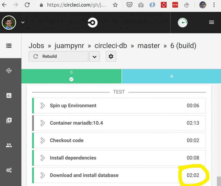 Achieve Rocketship-Fast Jobs in CircleCI by Preinstalling the Database