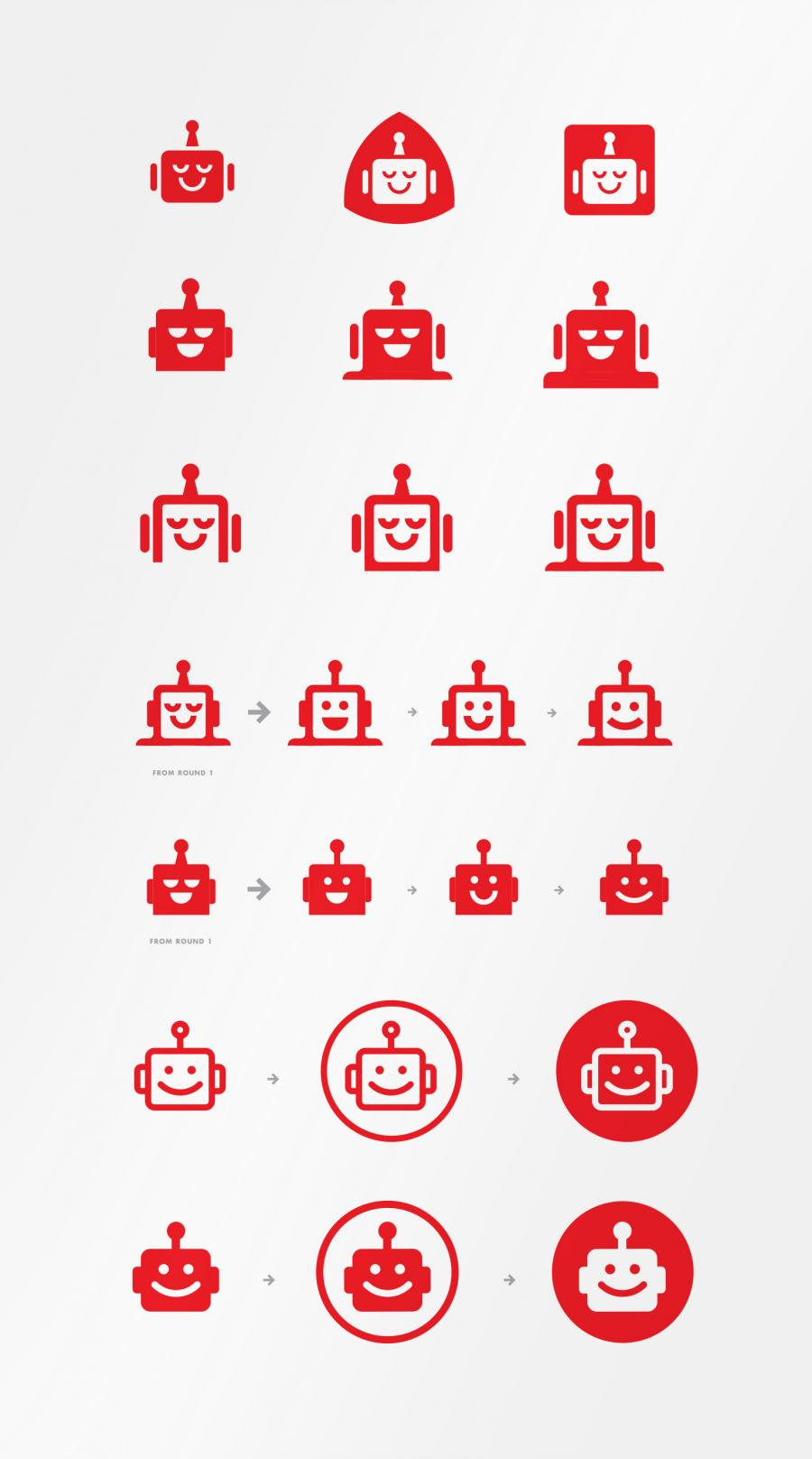 Lullabot logo explorations by Aaron Draplin