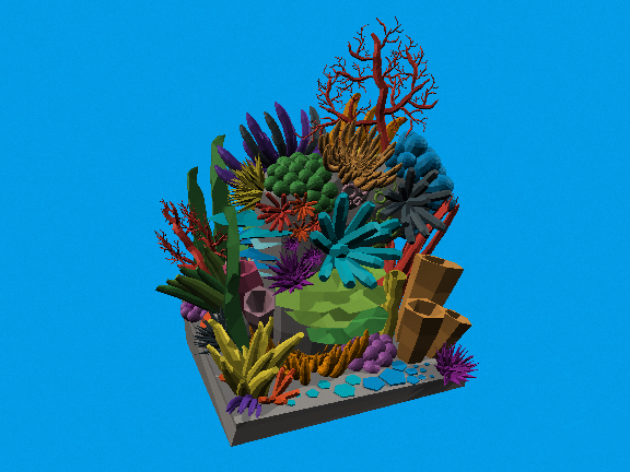 Coral Reef by Ashley Alicea