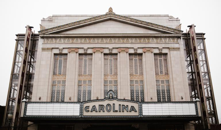 Photograph of Carolina Theatre in Greensboro, NC