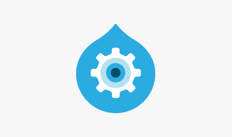 Drupal logo illustration