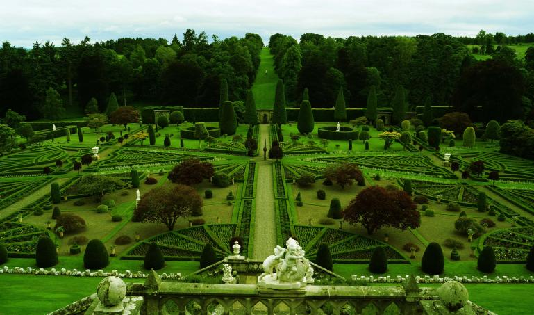Gardens at Castle Drummond